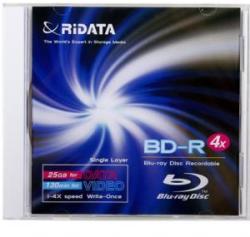 RIDATA Blu-Ray BD-R 25GB 4x 1 бр.