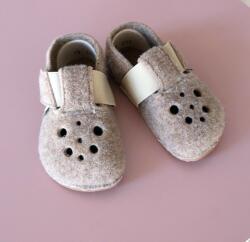 PEGRES Gyerek barefoot papucs Pegres BF04 - barna