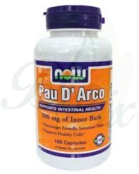 NOW Pau D'Arco (Lapacho fakéreg őrlemény) kapszula 100db