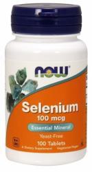 NOW Selenium szelén tabletta - 100 db