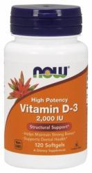 NOW Vitamin D-3 2000 IU kapszula - 120 db
