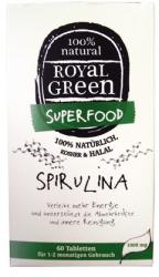 Royal Green Spirulina Tabletta (60 db)