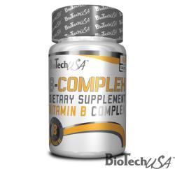 BioTechUSA B-complex B-vitamin tabletta - 60 db