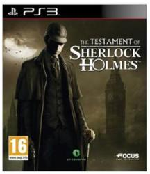 Focus Home Interactive The Testament of Sherlock Holmes (PS3)