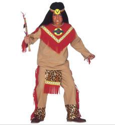Widmann Indián harcos fiú jelmez - 140cm-es méret (36677)