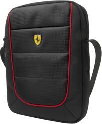 Scuderia Ferrari Geanta de umar, Ferrari Scudetto, Unisex, Negru, 20x20x5 cm, 2018