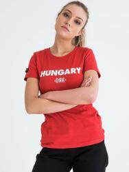 Dorko_Hungary HUNGARY T-SHIRT WOMEN roșu M