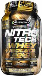 MuscleTech Nitro Tech Whey Isolate Gold 900g