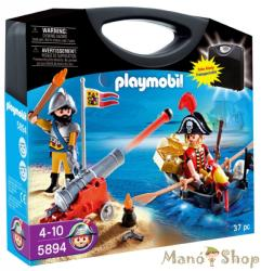 Playmobil Táska kalózzal és katonával (5894)