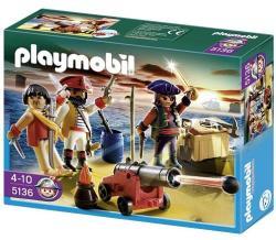 Playmobil Kalózcsapat fegyverekkel (5136)