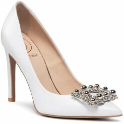 Baldowski Pantofi cu toc subțire D02491-1451-001 Alb