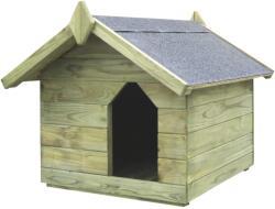 vidaXL Градинска кучешка колиба (296176)