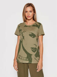 Guess Tricou Girl Easy W1BI05 K9SN2 Verde Regular Fit