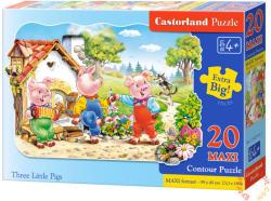 Castorland A három kismalac 20