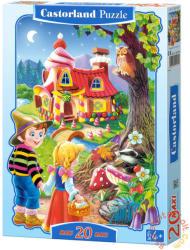 Castorland Maxi Puzzle - Jancsi és Juliska 20 db-os (C-02153)