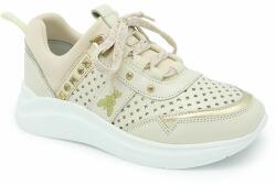 Patrizia Pepe - Gyerek bőrcipő - arany 40 - answear - 29 990 Ft