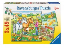 Ravensburger Farmállatok 3x49 (90929)