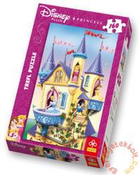 Trefl Disney hercegnők palotája 160 db-os (15142)