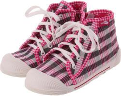 Renbut Pink-feketekockás cipő