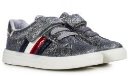 Tommy Hilfiger Kids Tommy Hilfiger tépőzáras ezüst lány cipő (T1A4-30781-1011918-25)