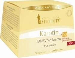 Kosmetika Afrodita Karotin 50+ Crema de zi 50ml