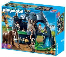 Playmobil Őskori barlang mamuttal (5100)