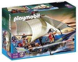 Playmobil A brit katonák hajója (5140)