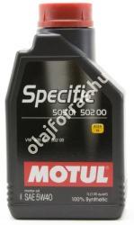 Motul Specific VW 505.01 / 502.00 / 505.00 5W40 (1L)
