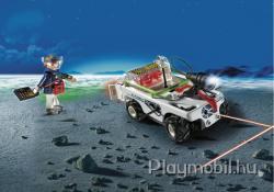 Playmobil E-Rangers jármű infravörös fénysugárral vezérelt (5151)