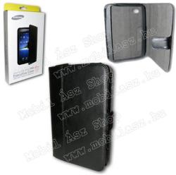 Samsung Leather Case for Galaxy Tab - Black (EF-GTABSCAS)