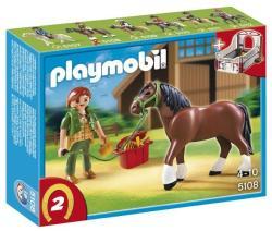 Playmobil Shire ló karámmal (5108)