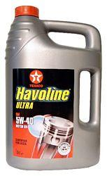 Texaco Havoline Ultra 5W40 5L