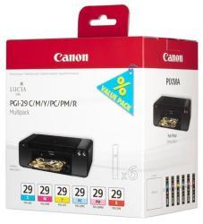 Canon PGI-29 MultiPack (C/M/Y/PC/PM/R)