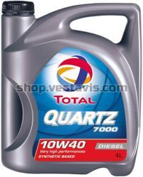 Total 10w40 Quartz Diesel 7000 4L