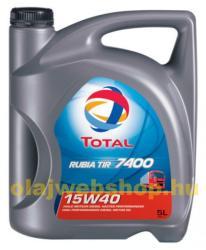 Total 15w40 Rubia Tir 7400 5L