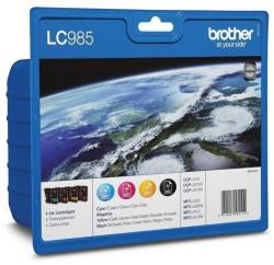 Brother LC985VALBP Value Pack (BK/C/M/Y)