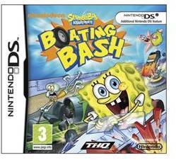THQ SpongeBob Squarepants Boating Bash (Nintendo DS)