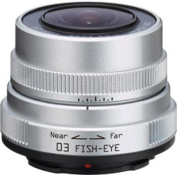 Pentax 03 Fish-Eye for Q-series - 3.2mm f/5.6 (22087)