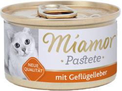 Miamor Katzenzarte Fleischpastete - Chicken Liver 85g