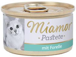 Miamor Katzenzarte Fleischpastete - Trout 85g