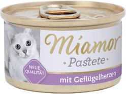 Miamor Katzenzarte Fleischpastete - Poultry & Heart 85g