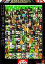 Educa Sörös palackok - Sörök világa 1000 db-os (13782)