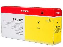 Canon PFI-704Y Yellow