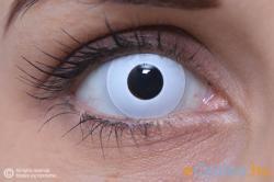 Eye Contact Crazy Hófehér - 3 havi 2 db