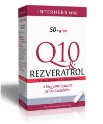 Interherb Q10 Rezveratrol Kapszula (30 db)