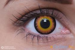 Eye Contact Crazy Vérfarkasszem - 3 havi (2 db)