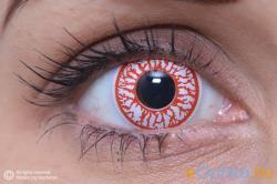 Eye Contact Crazy Véres szem - 3 havi (2 db)