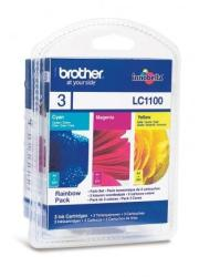 Brother LC1100RBWBP Color Set (C/M/Y)