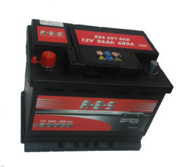ABS Universal Plus 56Ah 480A Bal+ (556601048)