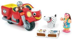 WOW Toys Max oldalkocsis motorkerékpárja